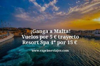 Ganga-a-Malta-Vuelos-por-5-euros-trayecto-Resort-Spa-4-estrellas-por-15-euros