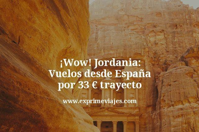 Jordania-Vuelos-desde-España-por-33-euros-trayecto