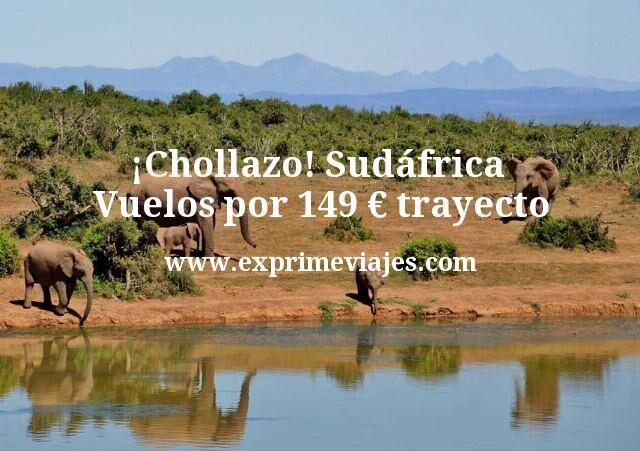 ¡Chollazo! Sudáfrica: Vuelos por 149euros trayecto