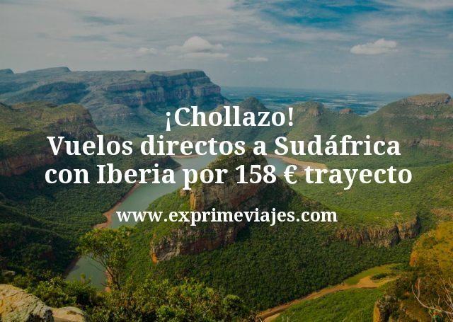 Chollazo Vuelos directos a Sudafrica con Iberia por 158 euros trayecto