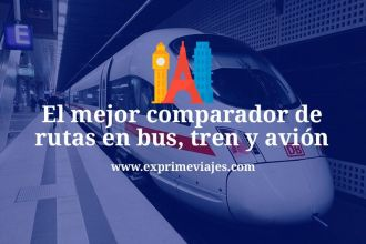 GoEuro comparador vuelos, tren y autobús