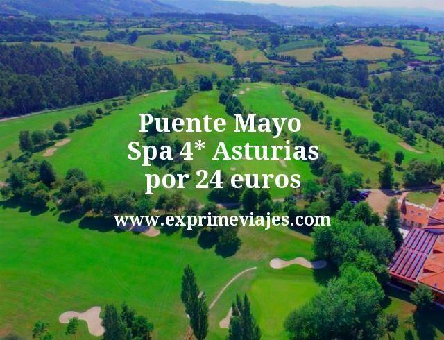 Puente Mayo Asturias: Spa 4* por 24euros