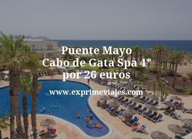 Puente Mayo Cabo de Gata: Hotel Spa 4* por 26€ p.p/noche
