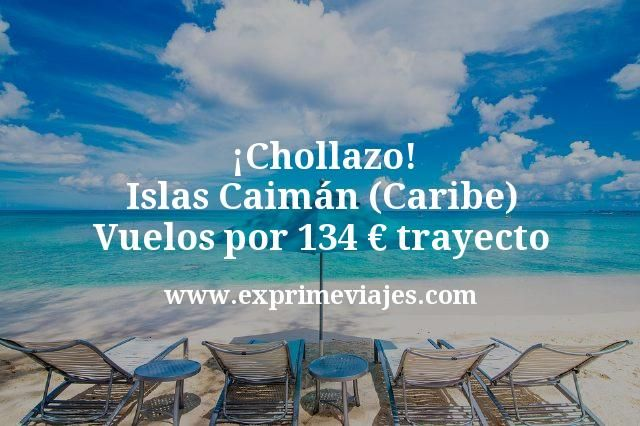 ¡Chollazo! Islas Caimán (Caribe): Vuelos por 134euros trayecto