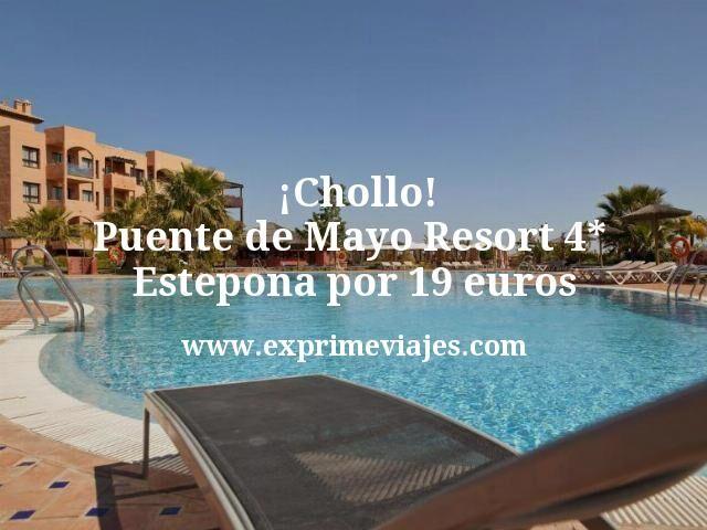 ¡Chollo! Puente de Mayo Estepona: Resort 4* por 19euros