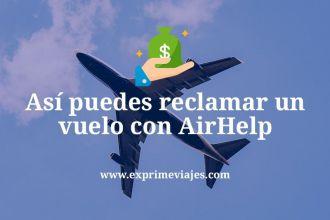 Reclamar vuelo Airhelp