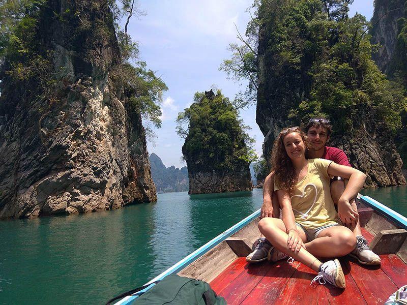 Lago Cheow Lan exprimeviajeros