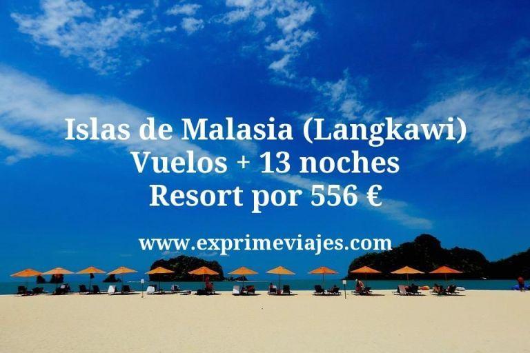 Islas de Malasia (Langkawi): Vuelos + 13 noches resort por 556€