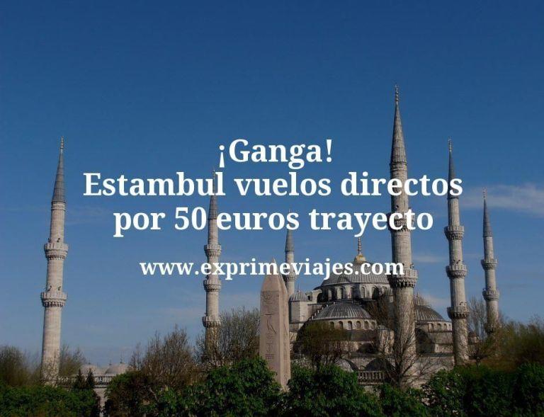 ¡Ganga! Estambul: Vuelos directos por 50euros trayecto