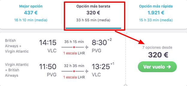 vuelos a shanghai desde valencia 159 euros trayecto