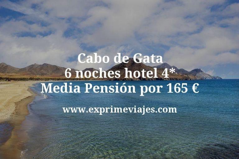 Cabo de Gata: 6 noches hotel 4* Media Pensión por 165euros p.p