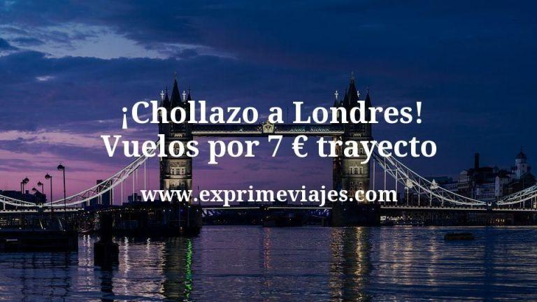 ¡Chollazo! Vuelos a Londres por 7euros trayecto
