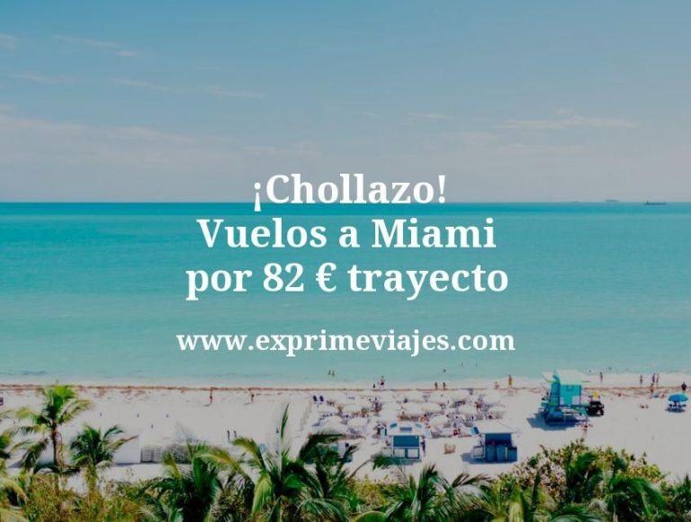¡Chollazo! Vuelos a Miami por 82euros trayecto