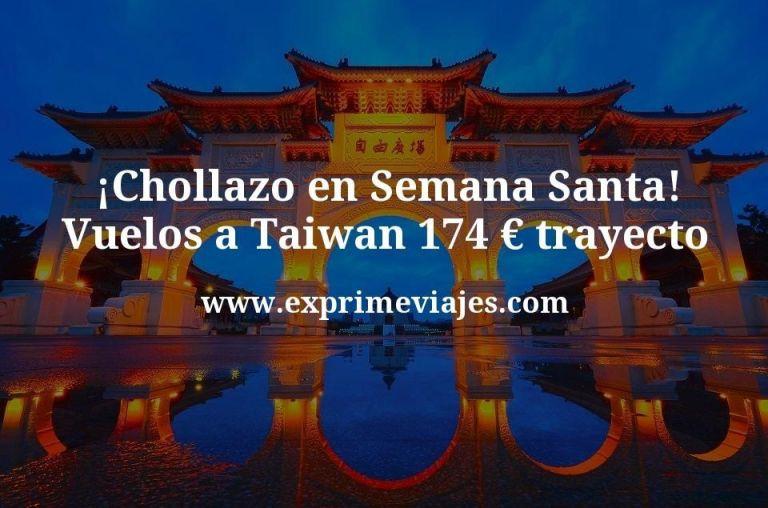 ¡Chollazo! Semana Santa en Taiwan: Vuelos a Taipéi por 174€ trayecto
