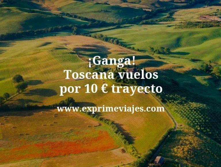 ¡Ganga! Toscana: vuelos por 10euros trayecto