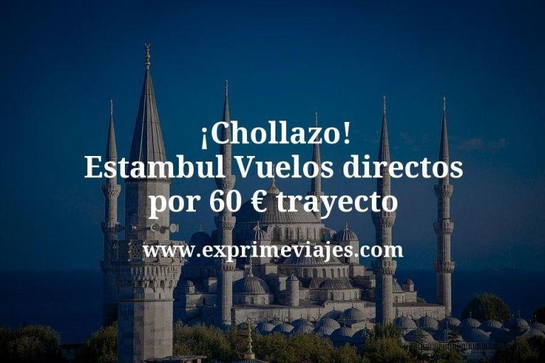 ¡Chollazo! Estambul: Vuelos directos por 60euros trayecto