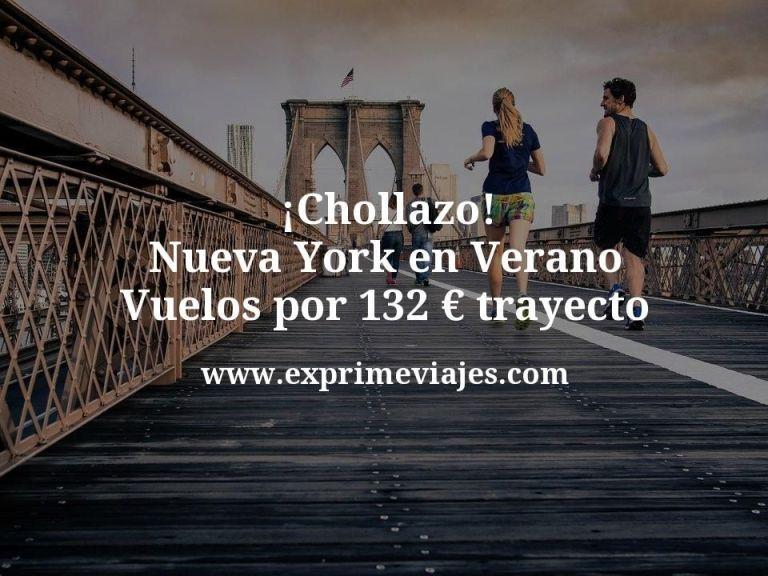 ¡Chollazo! Nueva York en Verano: Vuelos por 132euros trayecto