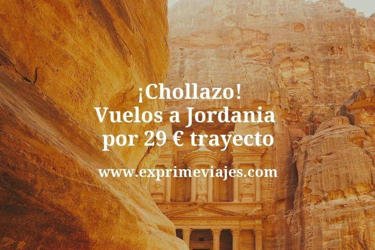 ¡Chollo! Vuelos a Jordania por 29euros trayecto
