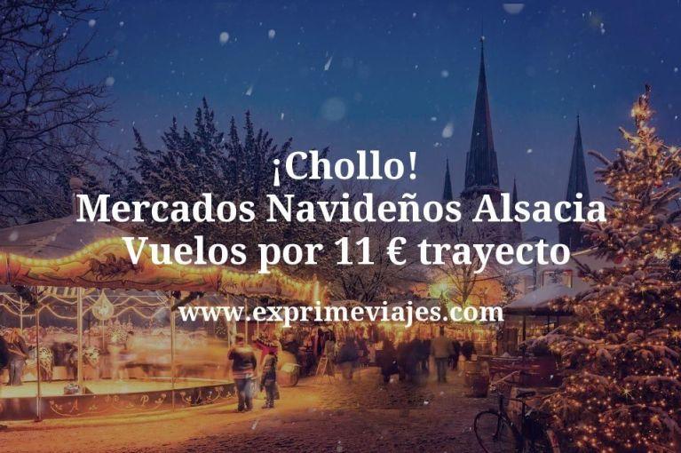 ¡Chollo! Mercados Navideños Alsacia: Vuelos por 11euros trayecto