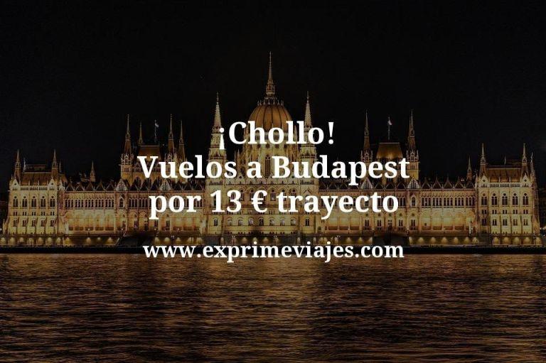 ¡Chollo! Vuelos a Budapest por 13euros trayecto