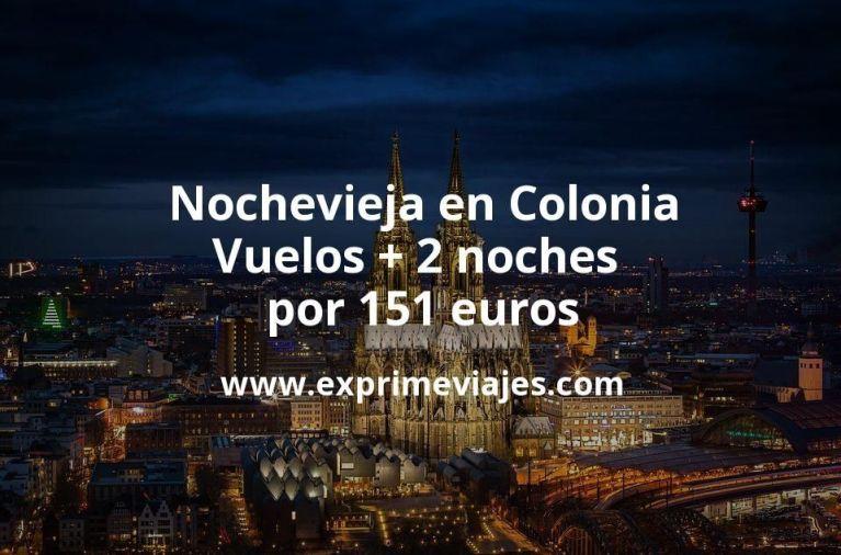 Nochevieja en Colonia: Vuelos + 2 noches por 151euros