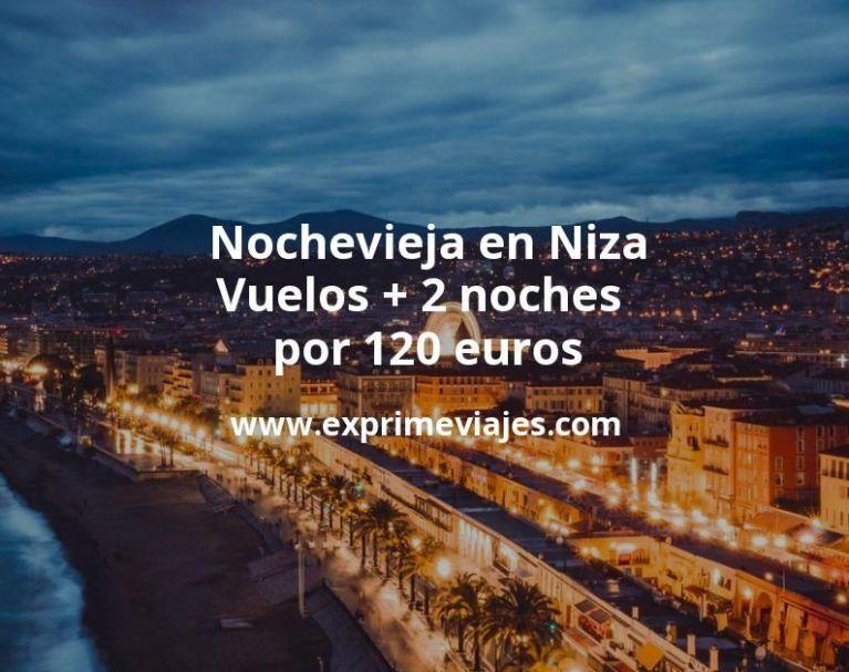Nochevieja en Niza: Vuelos + 2 noches por 120euros