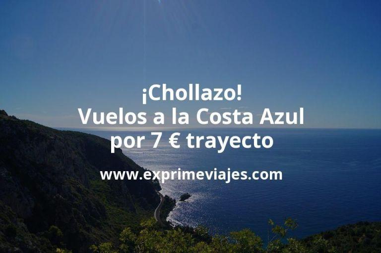 ¡Chollazo! Vuelos a la Costa Azul por 7euros trayecto