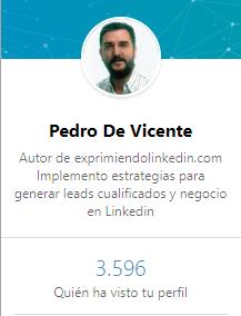 Linkedin Premium quién visita tu perfil