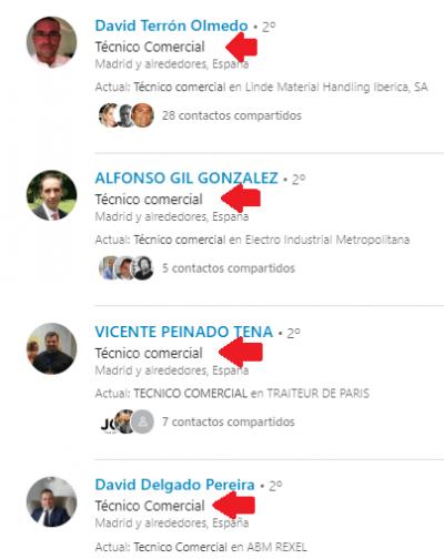 cómo buscar trabajo con Linkedin Titularpng