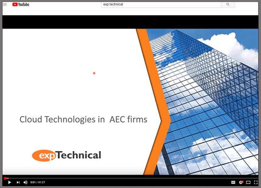 AEC Youtube webinar