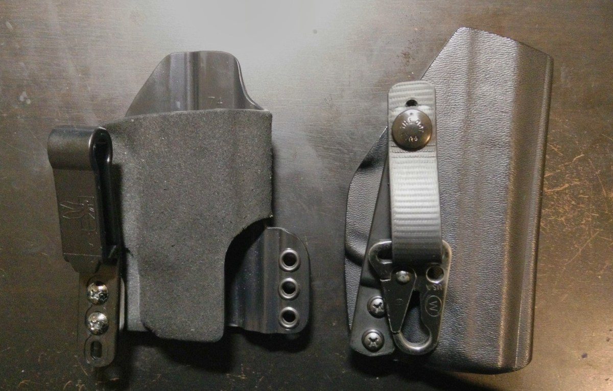 [Review] IWB Holsters, the HSP INCOG vs. PHLster ACCESS