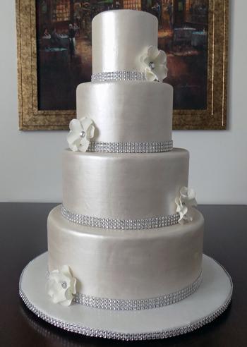 Fondant Wedding Cakes York PA Exquisite Wedding Cakes