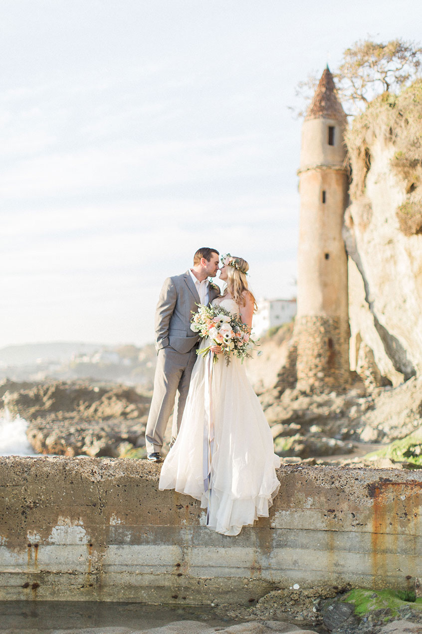 Styled Shoot Beach Wedding Inspiration  Exquisite Weddings