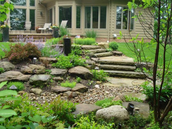 custom waterscape design cleveland