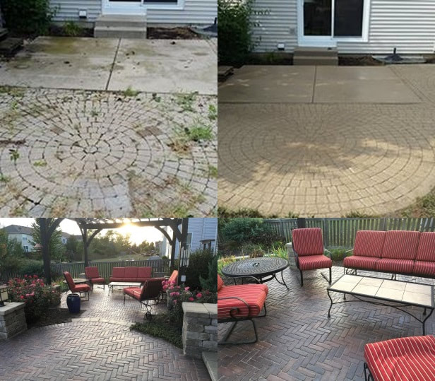 concrete paver cleaning exstream