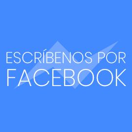 Escríbenos por Facebook
