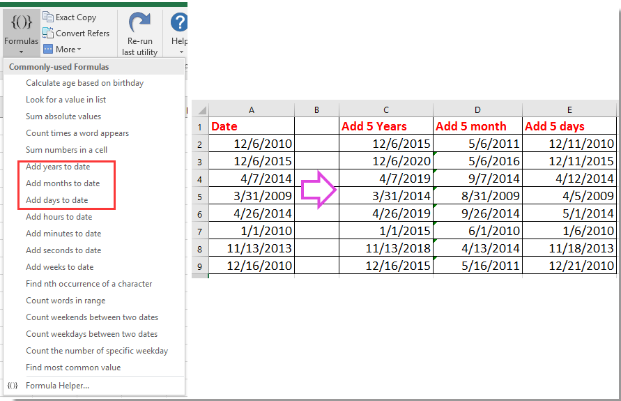 How to count number of leap years between two dates in Excel?