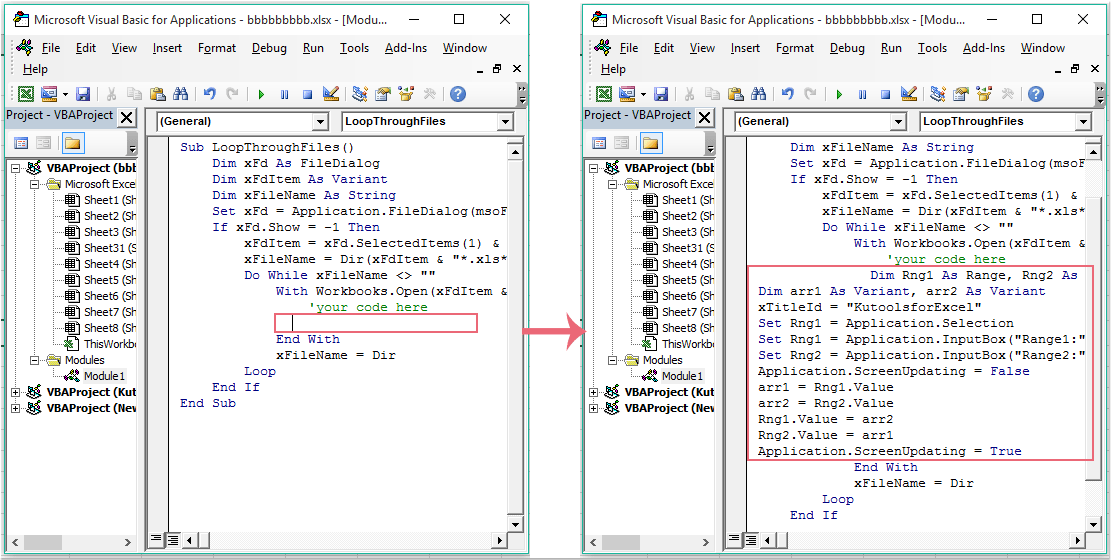 How To Run A Macro At Same Time Across Multiple Workbook
