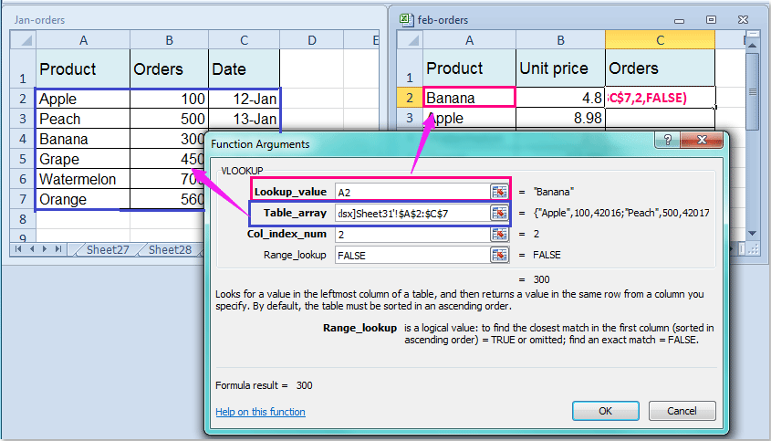 How To Vlookup To Another Workbook