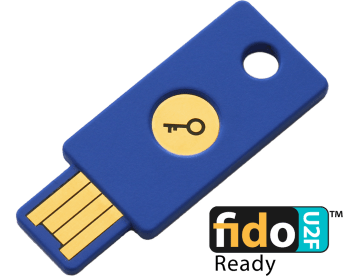 Yubico FIDO U2F Security Key / 3780円