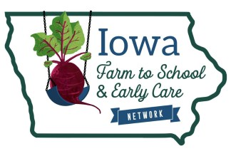 Iowa Farm to School and Early Care Network logo.