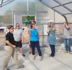farm to school toolkit pilot greenhouse tour