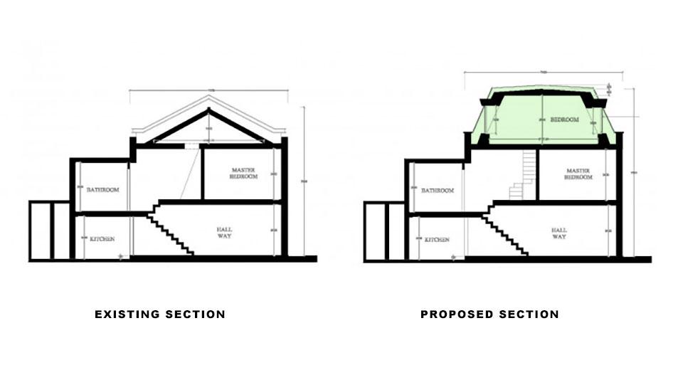 London architects EA give Chelsea home a smart loft