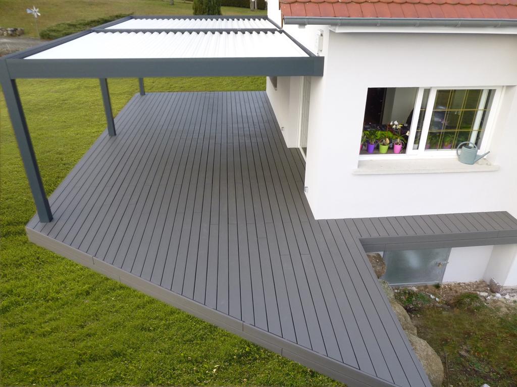 Lame De Terrasse Composite Grise ~ Comment Nettoyer Une Terrasse En Bois  Composite