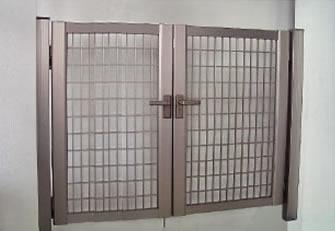 門扉「クロス門扉セットSH2型両開き」