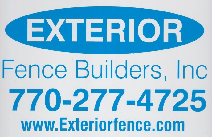 Exterior Fence Builders, Inc, Fence signs for 2012 to beyond. Exterior Fence Builders, Inc owned and managed by It's About Fences, LLC has been since 2009