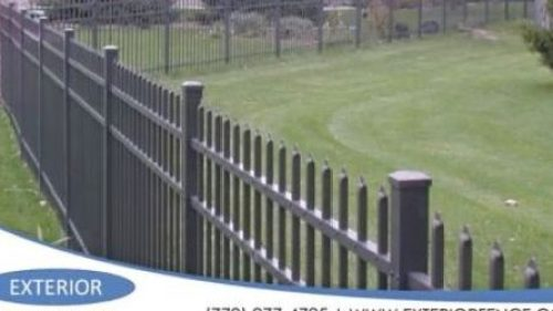 Aluminum or Steel fencing companies near me