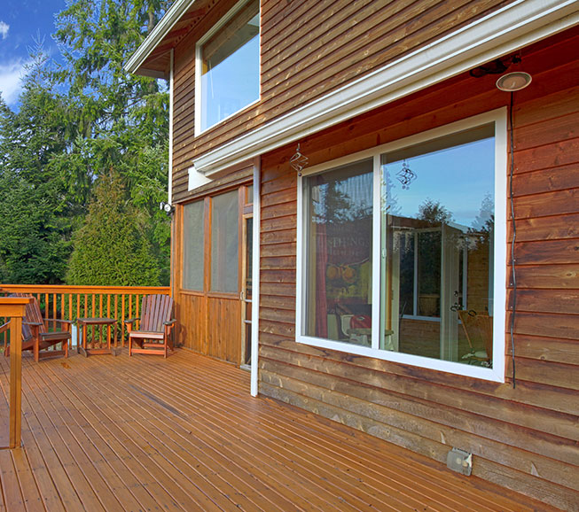 German Lap Wood Siding
