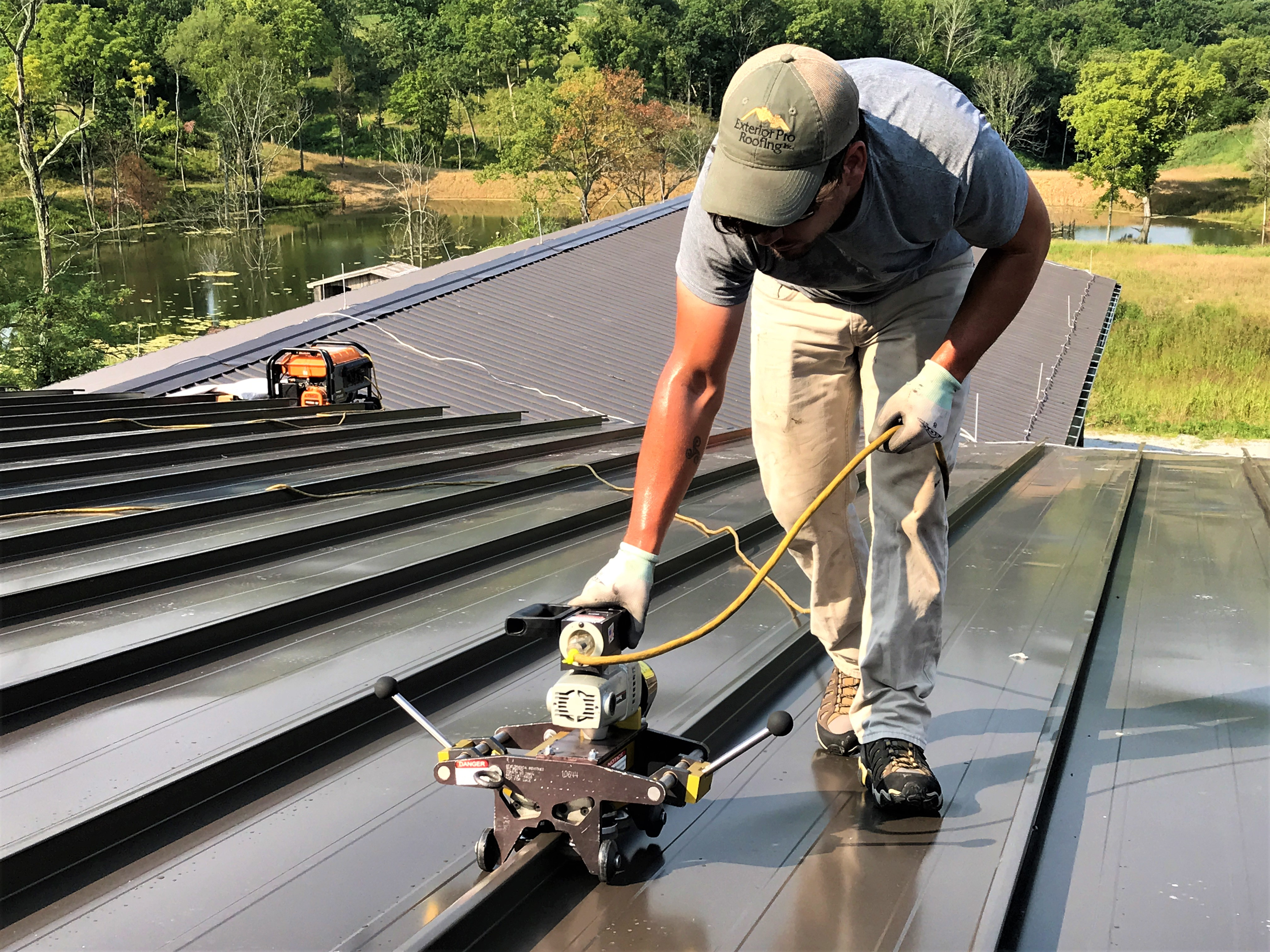 How To Cut Metal Roofing Youtube