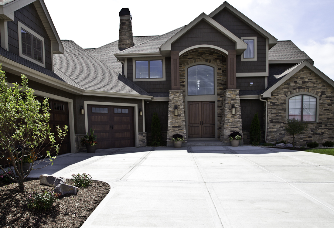 Award Winning Parade Home   Exterior Renovations Madison Remodeling, Roofing, Siding and Windows
